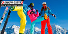 Ski hire equipment from Snow City, Jindabyne