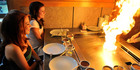 Say moshi moshi to a teppanyaki dinner for two with dessert