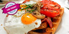 An all-day breakfast for TWO or FOUR in La Perouse