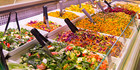 $7 for Any Hot Meal with a Salad or One Regular Three-Choice Salad (value $13)